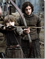 Bran Stark a lekce od Jona Sněha.