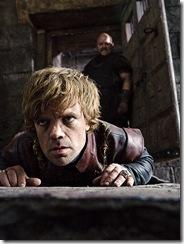 Tyrion a Mord v nebeské cele